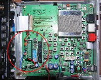 FT-817ND Mainboard