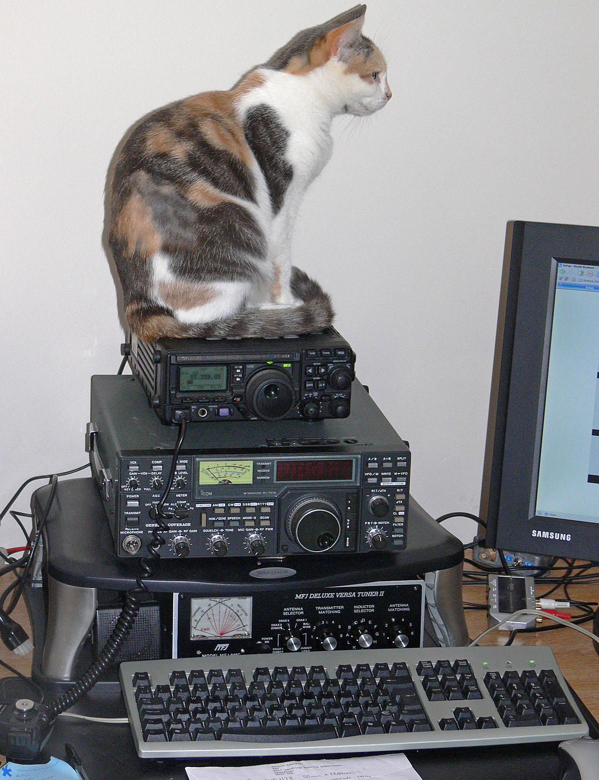 Amateur Radio Station Wb4omm: UK Amateur Radio Station