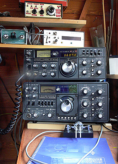 Yaesu Siblings - FT107M and FT902DM