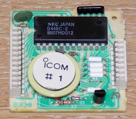 IC-751A Memory Module