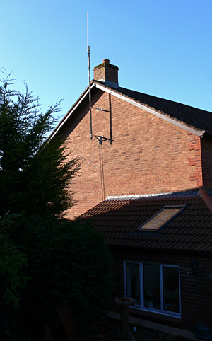 Dual Band Colinear Aerial