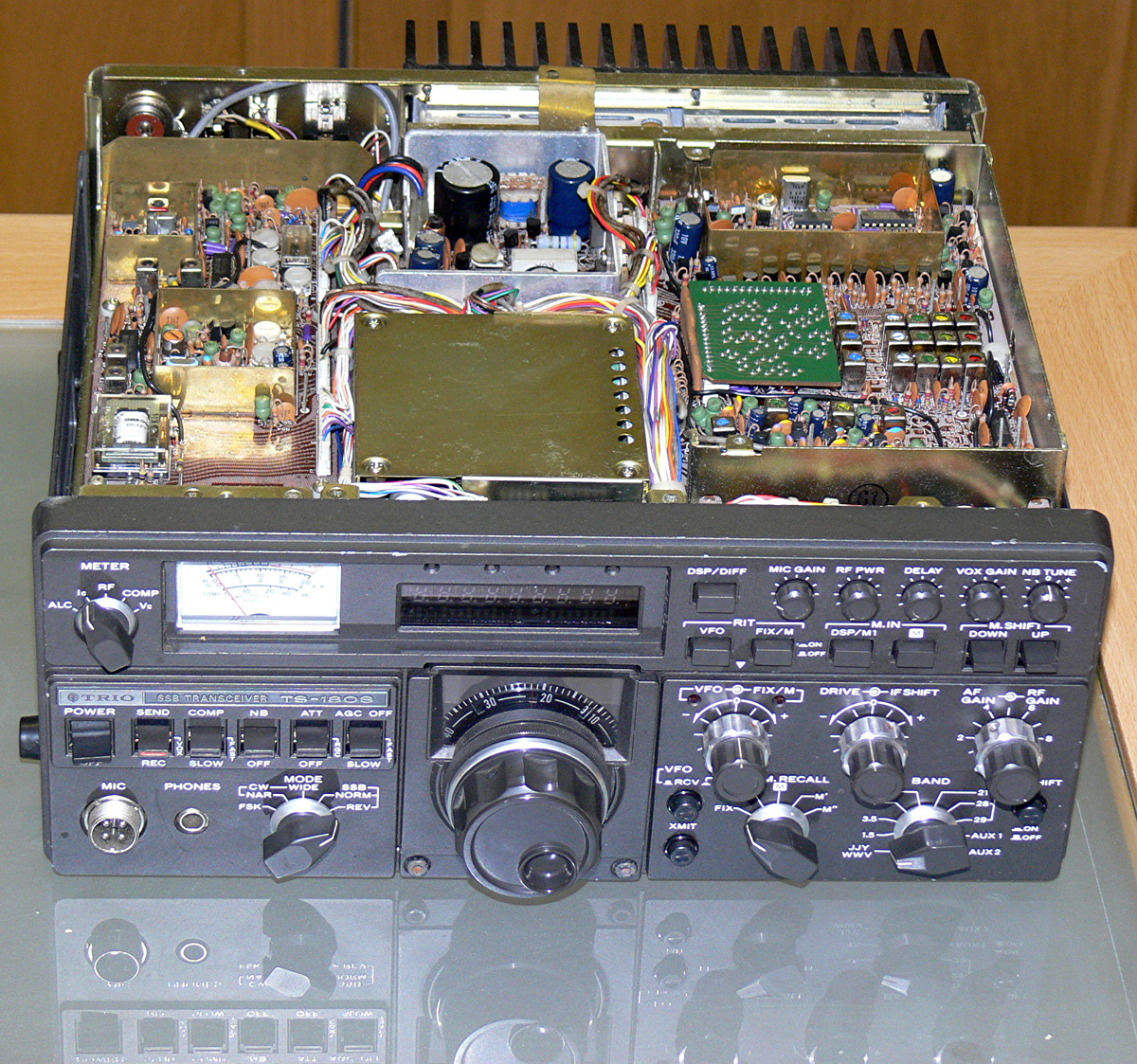 My Classic Rig Collection Stereo Wiring Diagram On Kenwood Radio Ajilbab Com Ts 180s