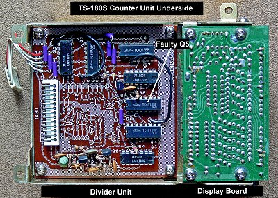 TS-180S Counter Divide Board