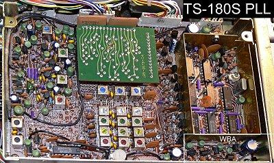 TS-180S PLL board