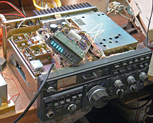 TS-180S under repair